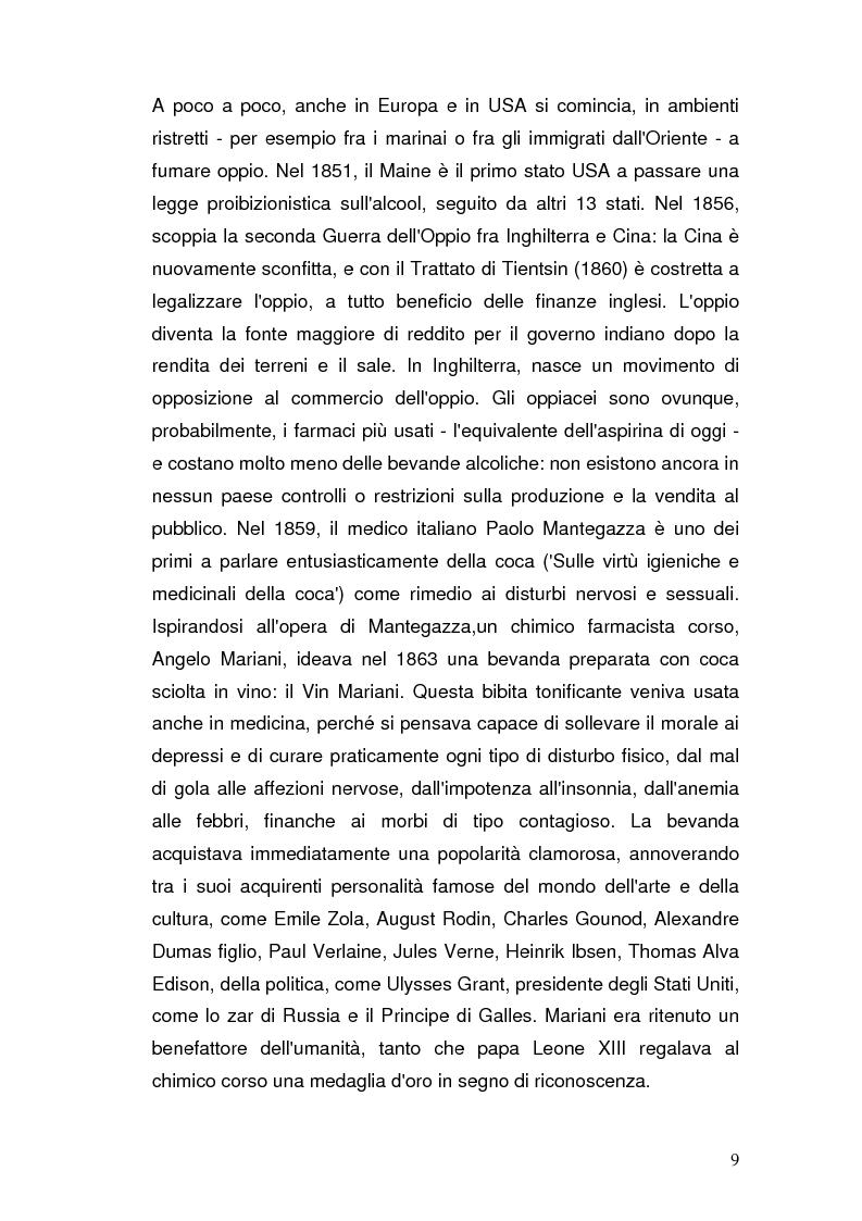 Anteprima della tesi: Somatizzazione di ansia e depressione nella eziopatogenesi della doppia diagnosi, Pagina 8