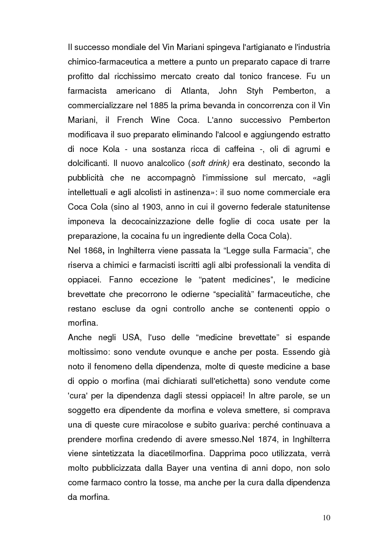 Anteprima della tesi: Somatizzazione di ansia e depressione nella eziopatogenesi della doppia diagnosi, Pagina 9