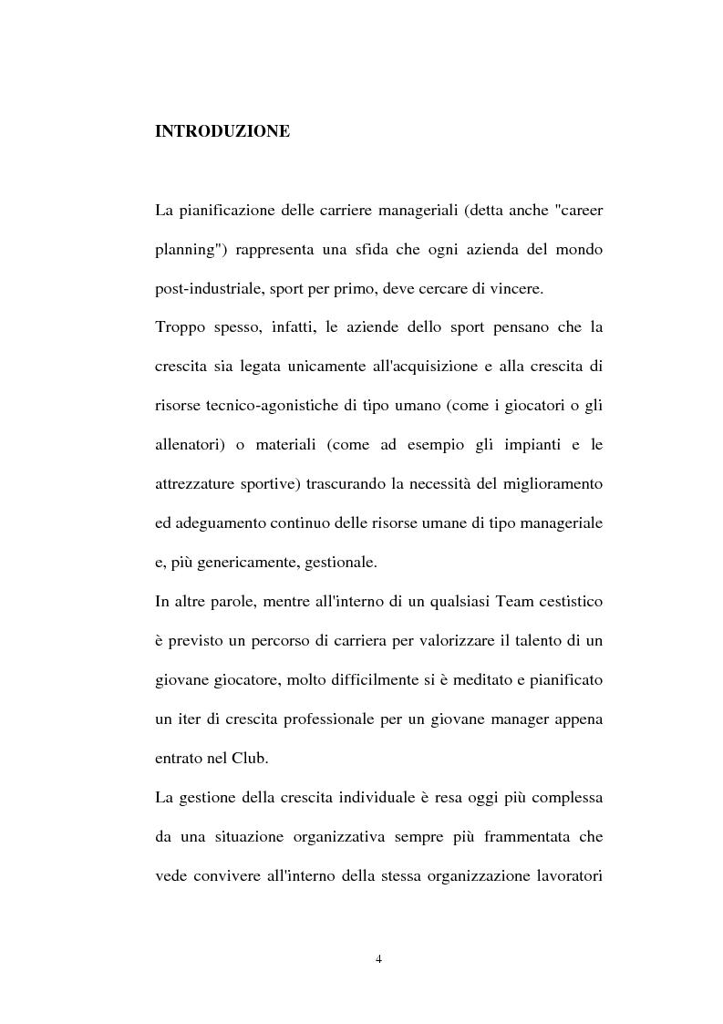Anteprima della tesi: Pallacanestro Olimpia Milano: pianificazione e organizzazione di una stagione agonistica, Pagina 1
