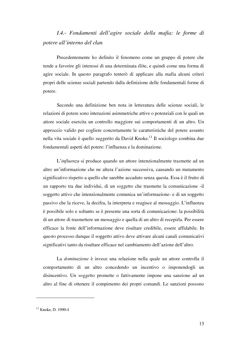 Anteprima della tesi: La mafia nel mercato sanitario, Pagina 11