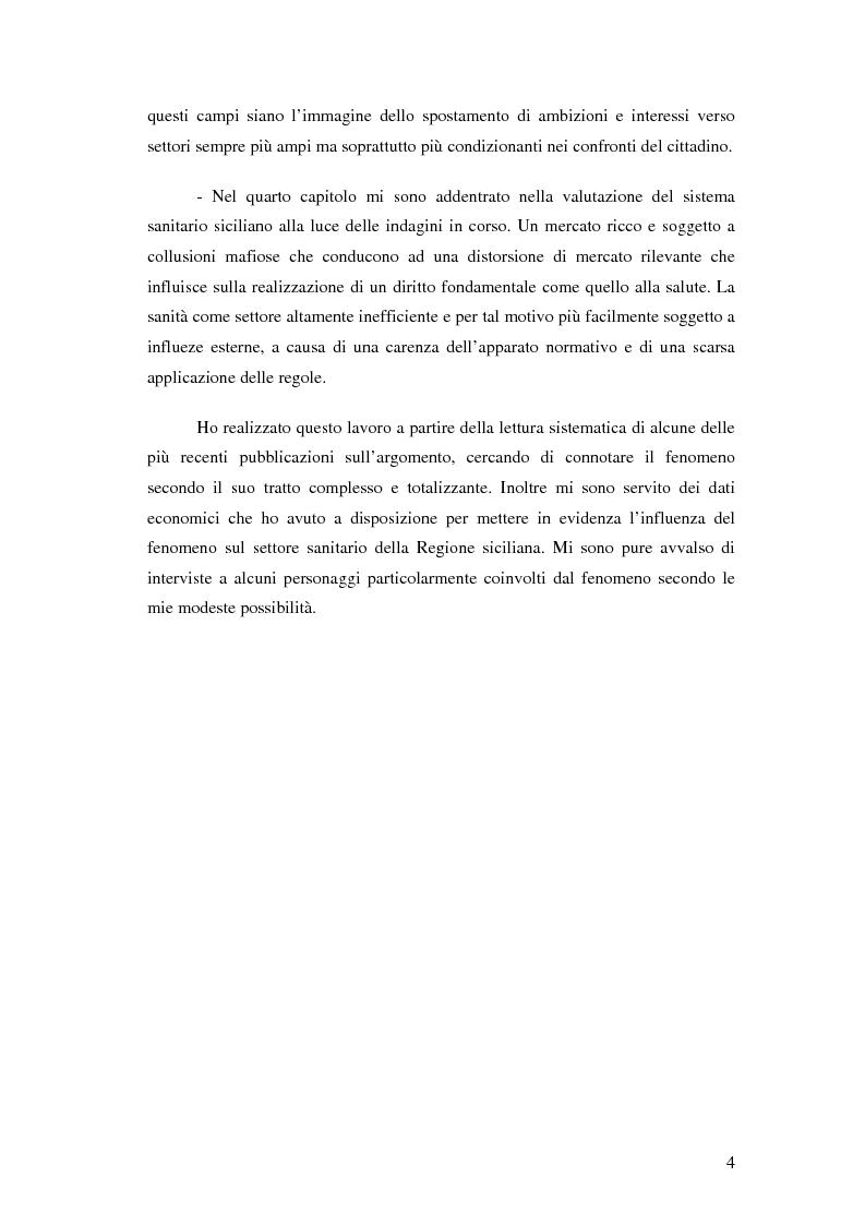 Anteprima della tesi: La mafia nel mercato sanitario, Pagina 2