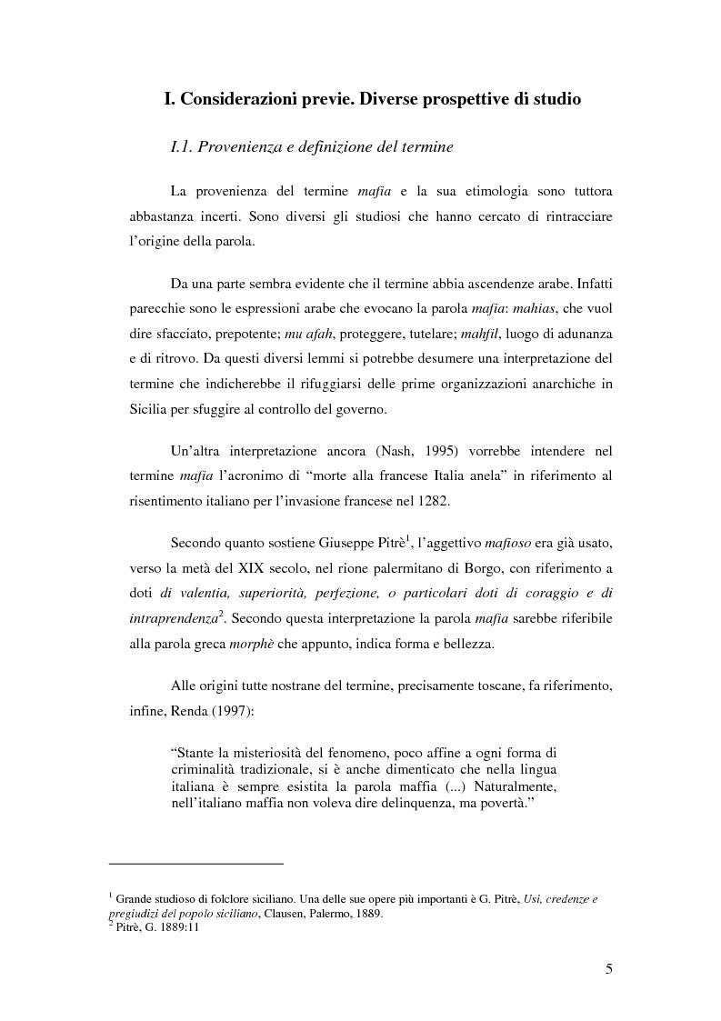 Anteprima della tesi: La mafia nel mercato sanitario, Pagina 3