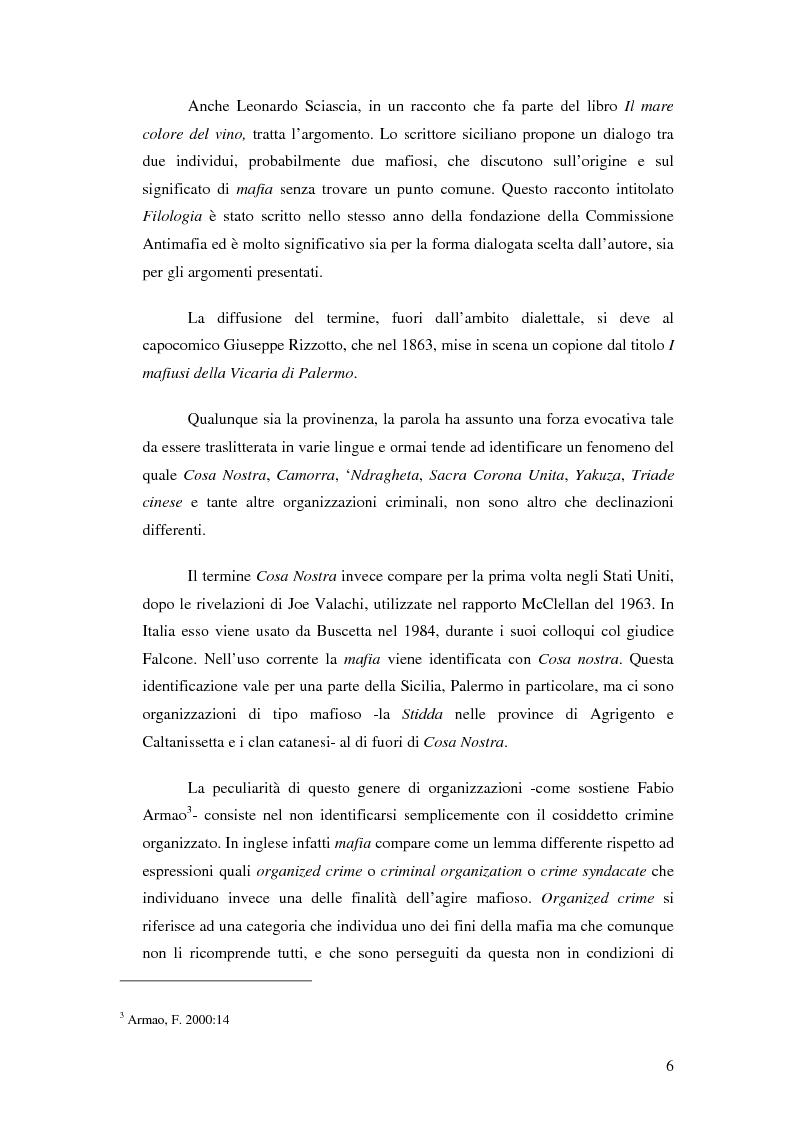 Anteprima della tesi: La mafia nel mercato sanitario, Pagina 4