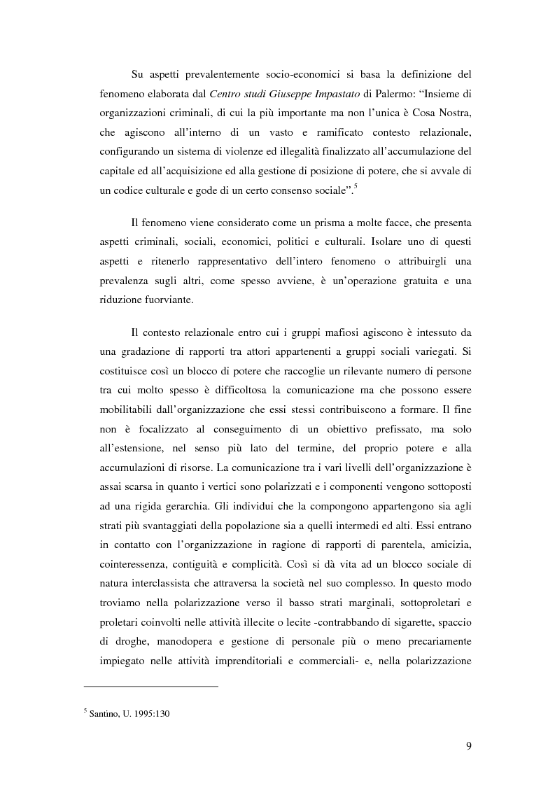 Anteprima della tesi: La mafia nel mercato sanitario, Pagina 7