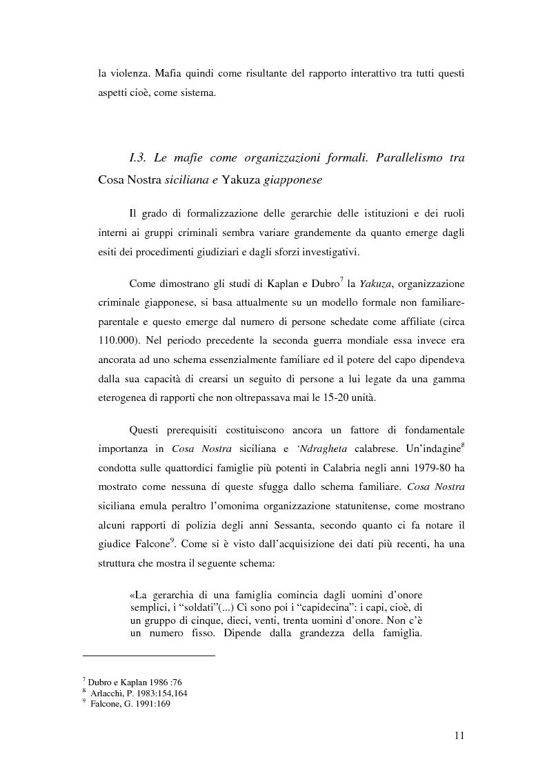 Anteprima della tesi: La mafia nel mercato sanitario, Pagina 9