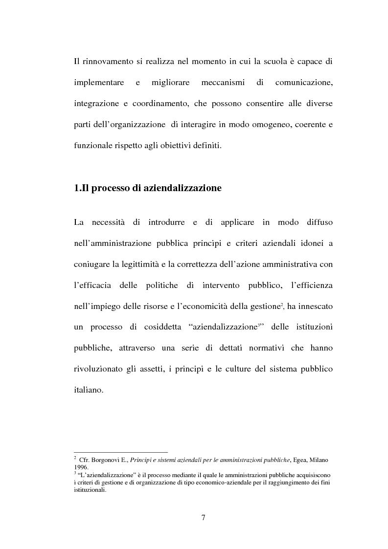 Anteprima della tesi: Il ruolo della comunicazione nelle istituzioni scolastiche, Pagina 4