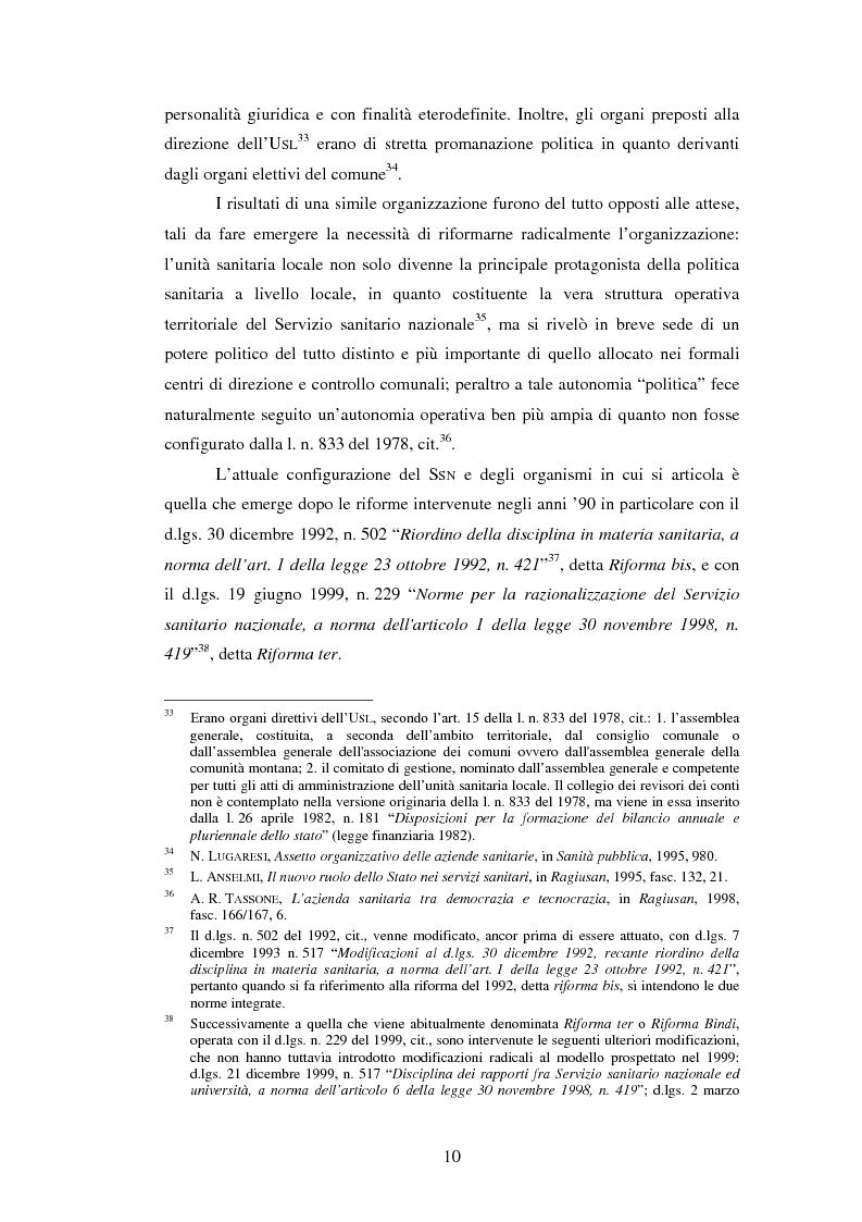 Anteprima della tesi: L'introduzione di procedure informatiche integrate per la gestione delle risorse umane: impatto sull'organizzazione delle funzioni e dei dati, Pagina 10