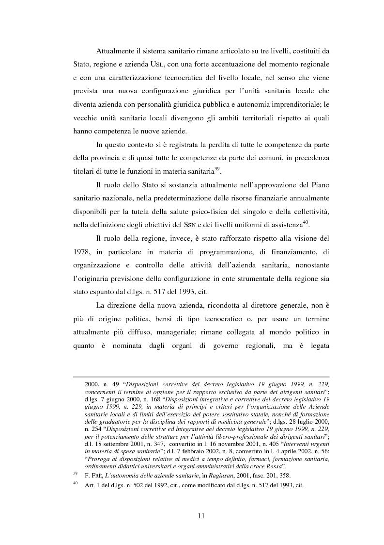 Anteprima della tesi: L'introduzione di procedure informatiche integrate per la gestione delle risorse umane: impatto sull'organizzazione delle funzioni e dei dati, Pagina 11