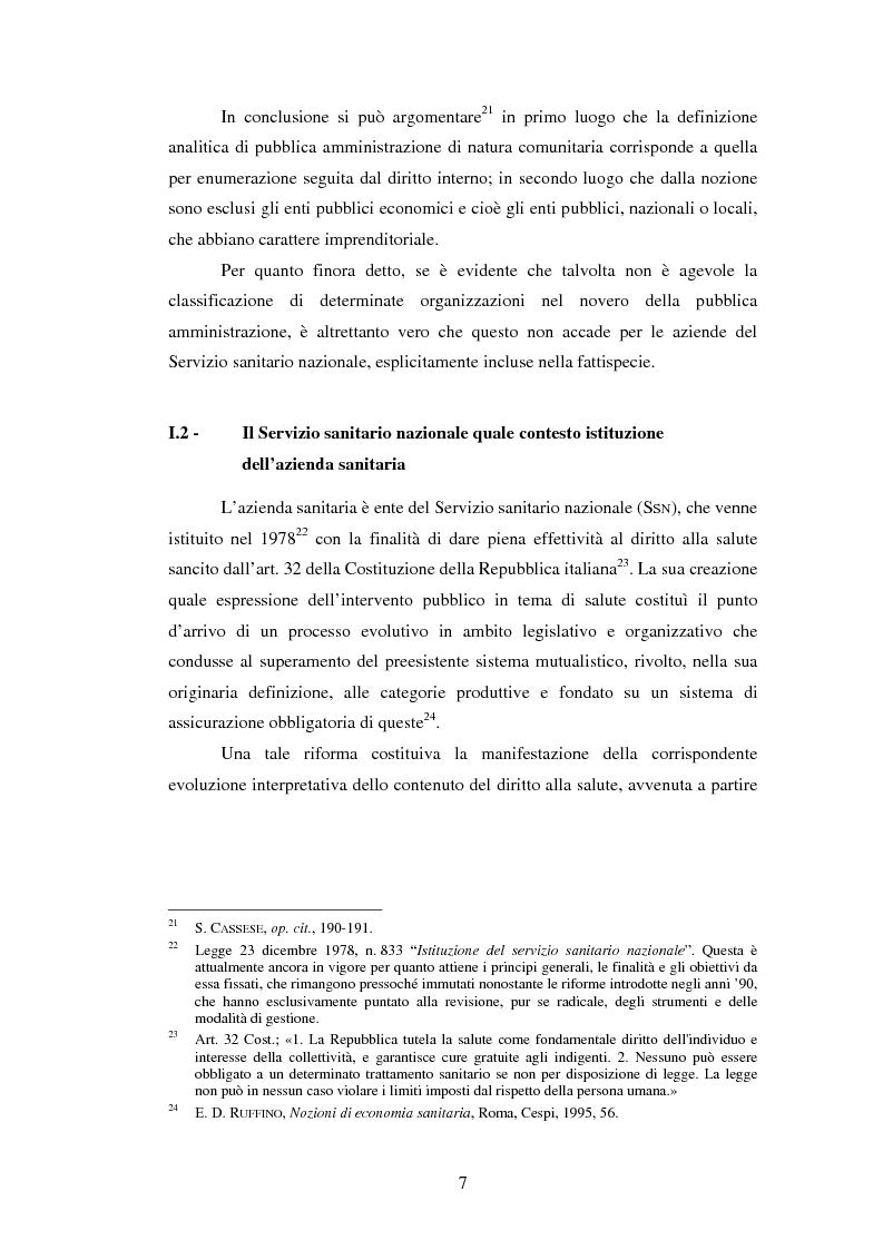 Anteprima della tesi: L'introduzione di procedure informatiche integrate per la gestione delle risorse umane: impatto sull'organizzazione delle funzioni e dei dati, Pagina 7
