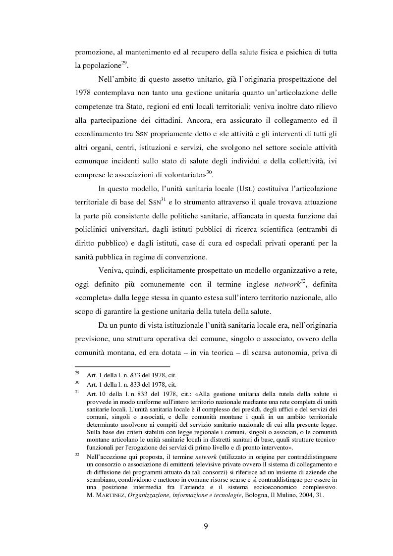 Anteprima della tesi: L'introduzione di procedure informatiche integrate per la gestione delle risorse umane: impatto sull'organizzazione delle funzioni e dei dati, Pagina 9