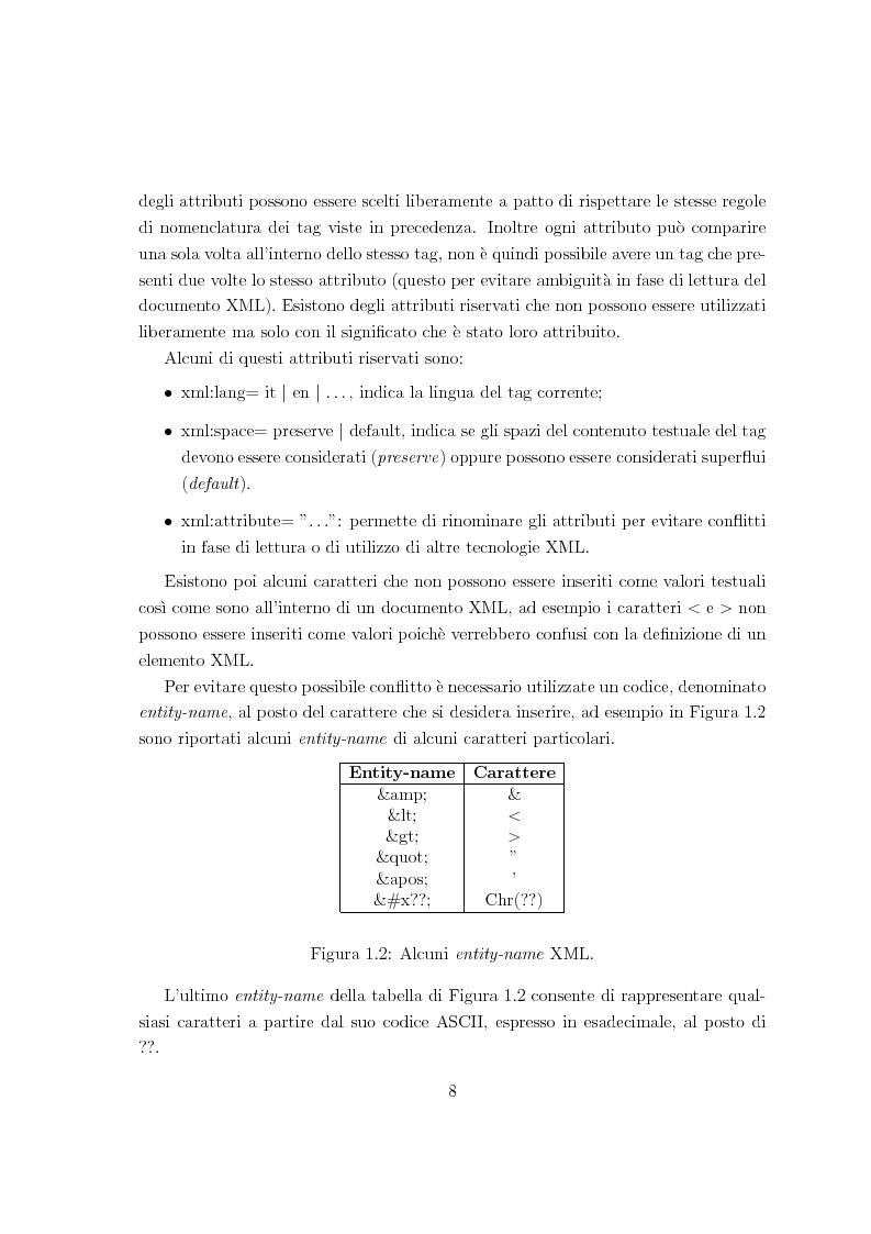 Anteprima della tesi: Risoluzione efficiente di interrogazioni XPath su documenti XML con attributi e riferimenti, Pagina 6