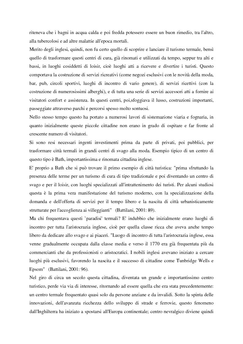 Anteprima della tesi: Evoluzione del turismo e fenomeno turistico nell'epoca della globalizzazione, con particolare attenzione agli stili turistici dei giovani, Pagina 3