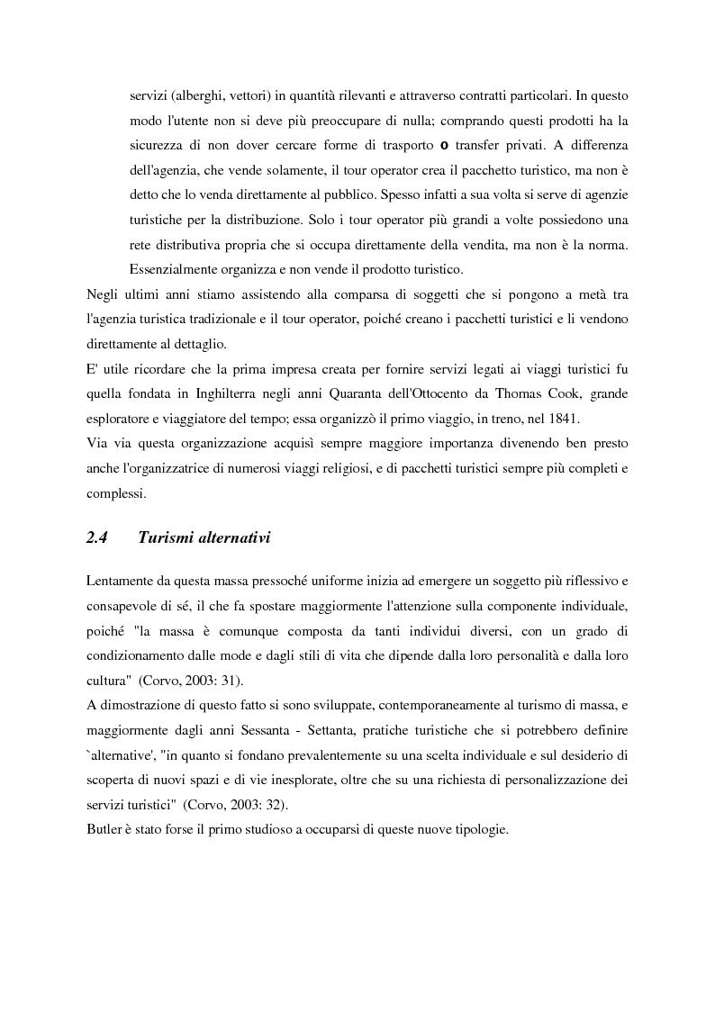 Anteprima della tesi: Evoluzione del turismo e fenomeno turistico nell'epoca della globalizzazione, con particolare attenzione agli stili turistici dei giovani, Pagina 7