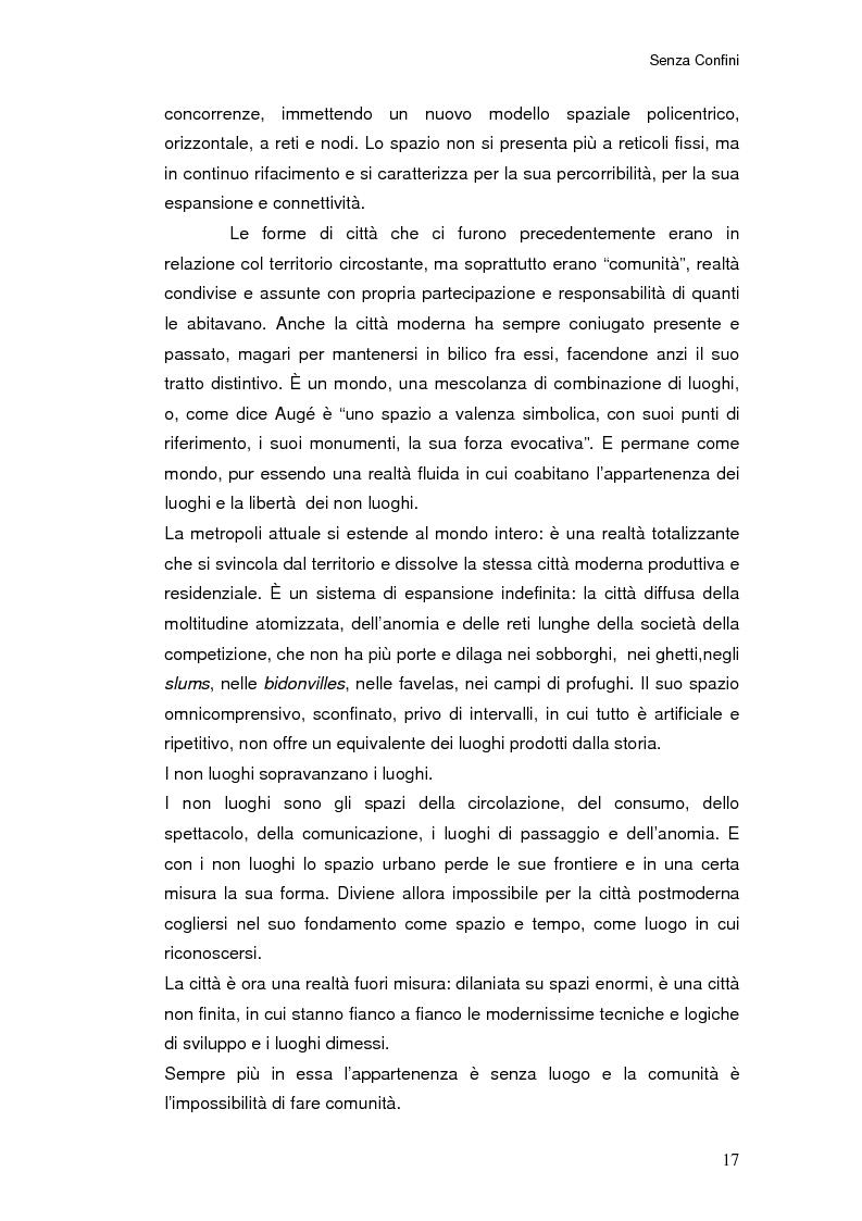 Anteprima della tesi: Senza Confini, Pagina 11