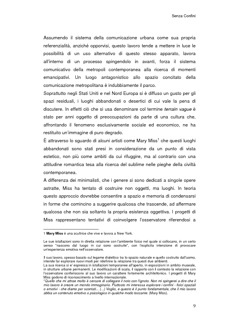 Anteprima della tesi: Senza Confini, Pagina 3
