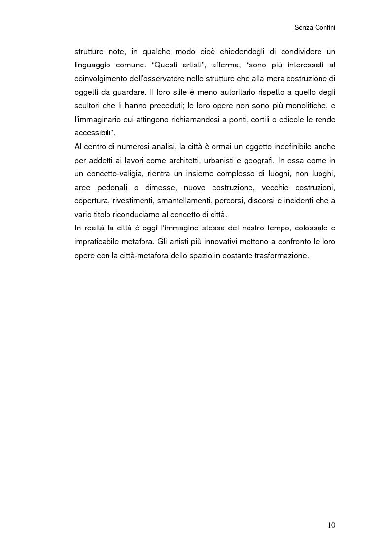 Anteprima della tesi: Senza Confini, Pagina 4