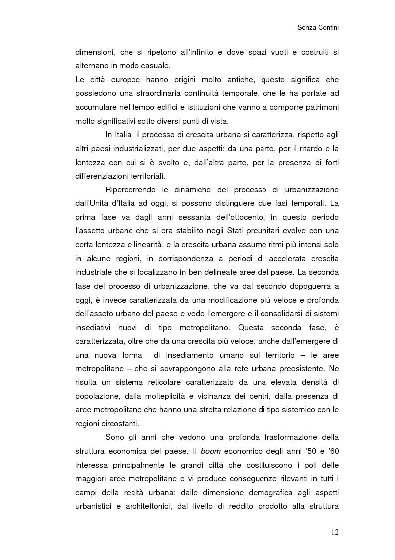 Anteprima della tesi: Senza Confini, Pagina 6