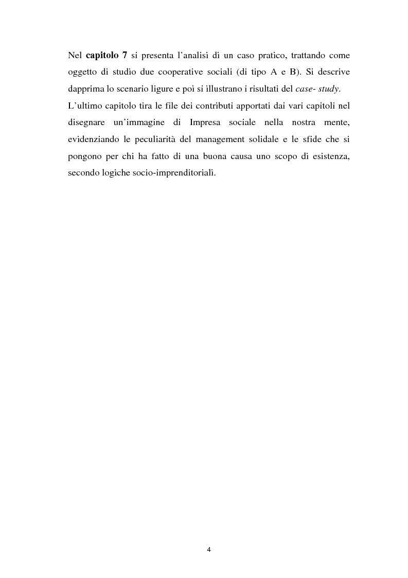 Anteprima della tesi: Alla ricerca dell'Impresa sociale, Pagina 4