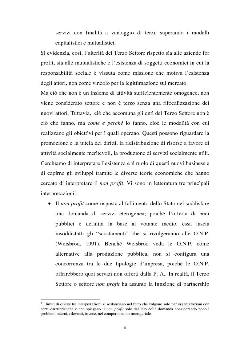 Anteprima della tesi: Alla ricerca dell'Impresa sociale, Pagina 6