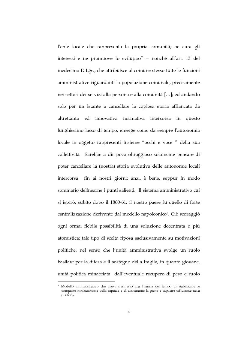 Anteprima della tesi: Il sistema di governo locale, Pagina 4