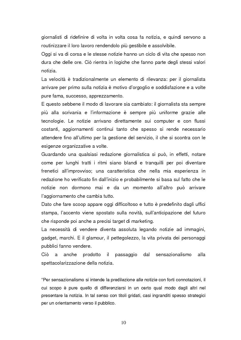 Anteprima della tesi: La costruzione della notizia: il caso Sky sport, Pagina 10