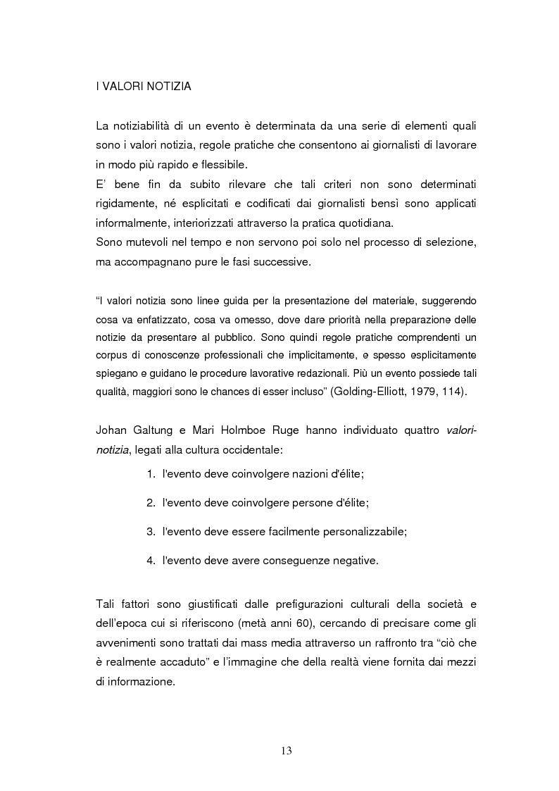 Anteprima della tesi: La costruzione della notizia: il caso Sky sport, Pagina 13