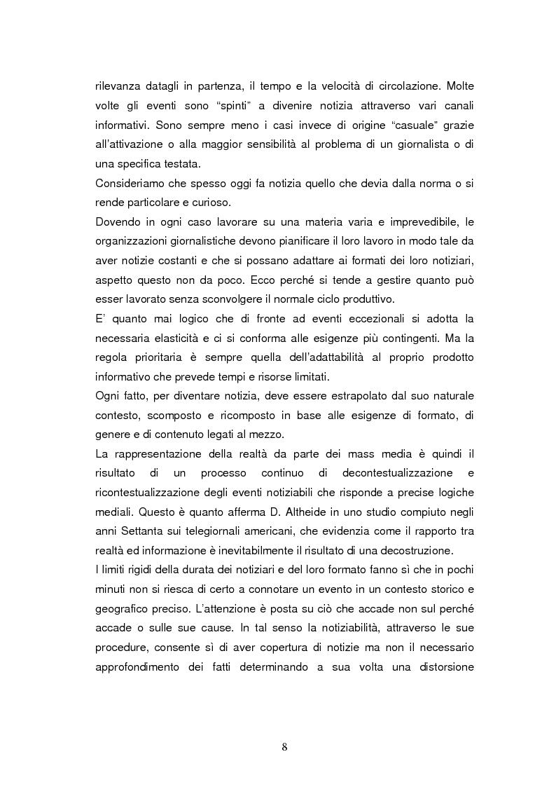 Anteprima della tesi: La costruzione della notizia: il caso Sky sport, Pagina 8