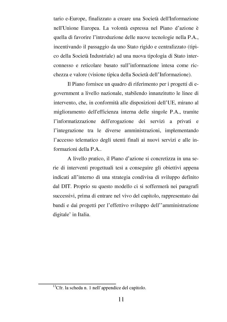 Anteprima della tesi: Il ruolo dell'usabilità nella progettazione dei servizi di e-government, Pagina 11