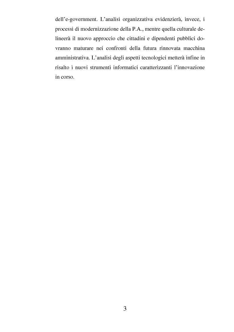 Anteprima della tesi: Il ruolo dell'usabilità nella progettazione dei servizi di e-government, Pagina 3
