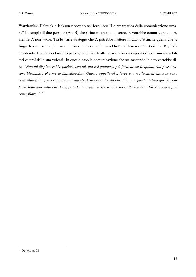 Anteprima della tesi: Le scelte minime, il colloquio in campo psicopedagogico, Pagina 11