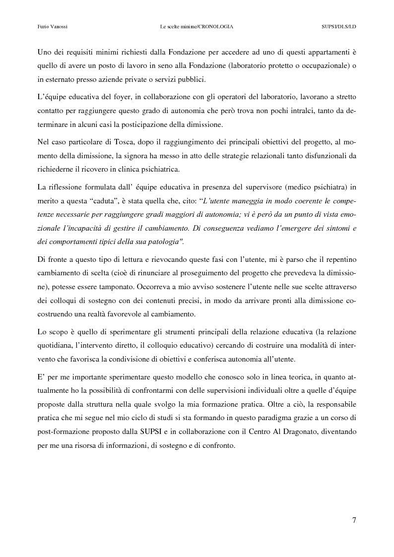 Anteprima della tesi: Le scelte minime, il colloquio in campo psicopedagogico, Pagina 2