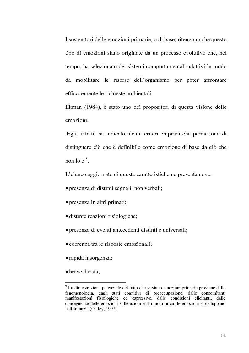 Anteprima della tesi: Differenze di genere nelle emozioni della rivalità: gelosia e invidia, Pagina 11