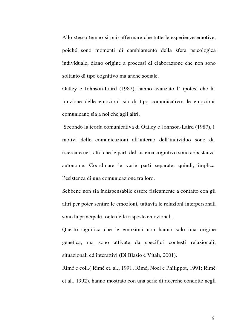 Anteprima della tesi: Differenze di genere nelle emozioni della rivalità: gelosia e invidia, Pagina 5