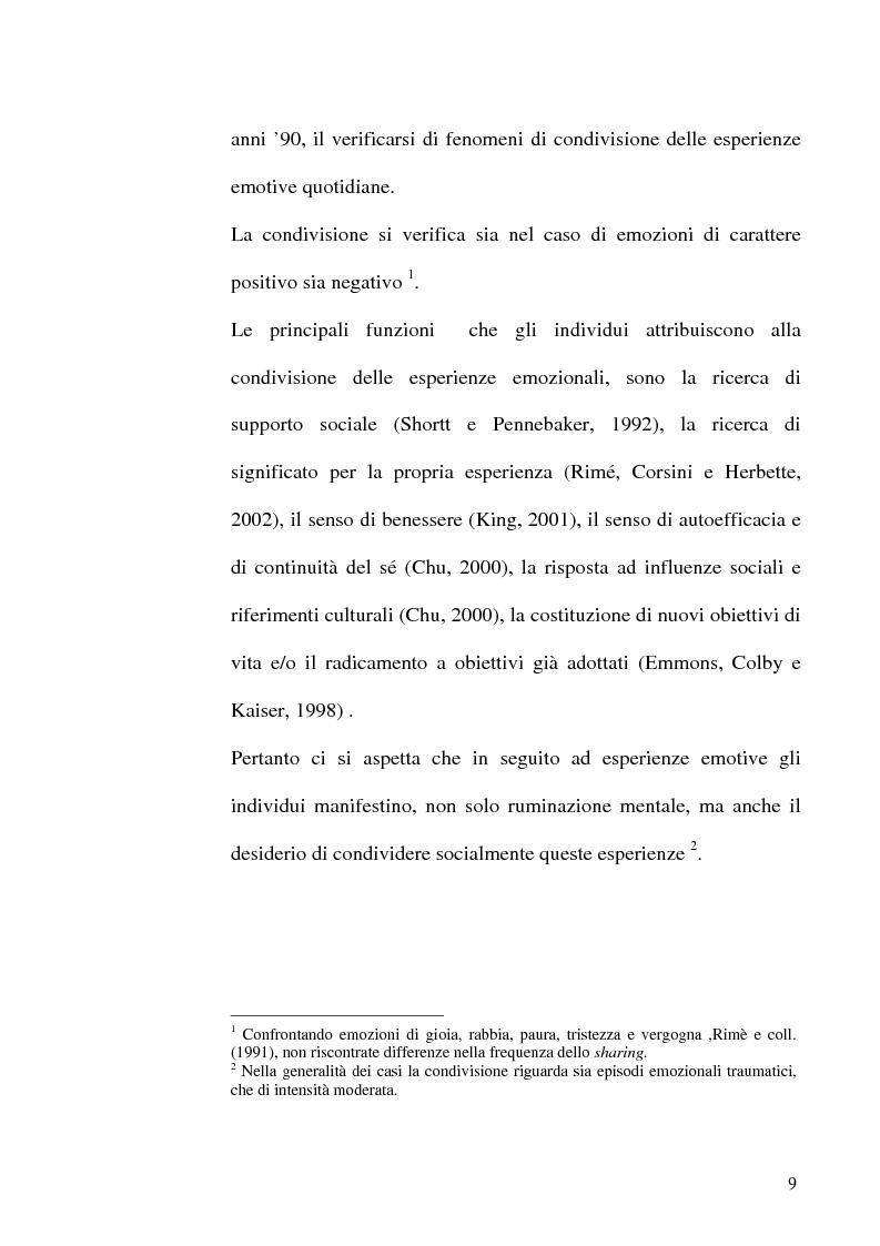 Anteprima della tesi: Differenze di genere nelle emozioni della rivalità: gelosia e invidia, Pagina 6