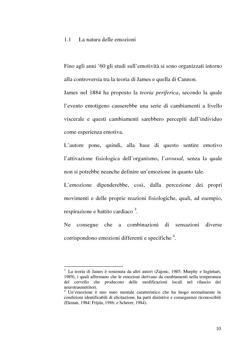 Anteprima della tesi: Differenze di genere nelle emozioni della rivalità: gelosia e invidia, Pagina 7