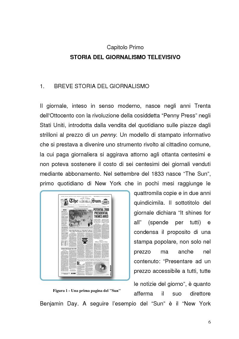 Anteprima della tesi: Il giornalismo sportivo televisivo: modificazioni di genere derivanti dall'avvento delle trasmissioni in digitale, Pagina 2