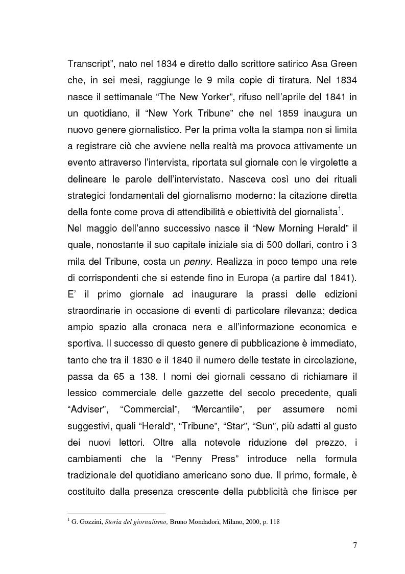 Anteprima della tesi: Il giornalismo sportivo televisivo: modificazioni di genere derivanti dall'avvento delle trasmissioni in digitale, Pagina 3