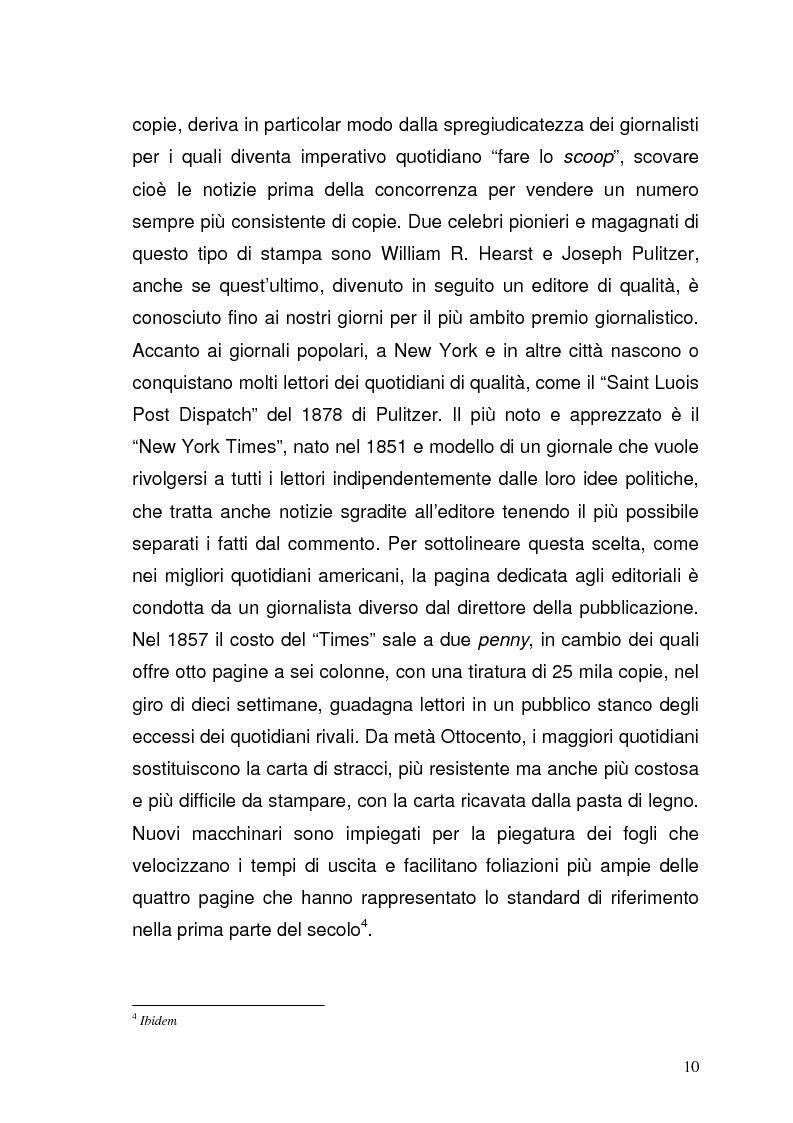 Anteprima della tesi: Il giornalismo sportivo televisivo: modificazioni di genere derivanti dall'avvento delle trasmissioni in digitale, Pagina 6