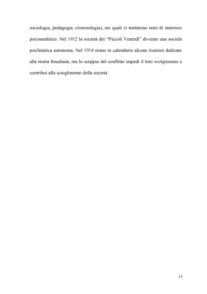 Anteprima della tesi: La Psicoanalisi in Russia: nascita, sviluppo e oblio, Pagina 14