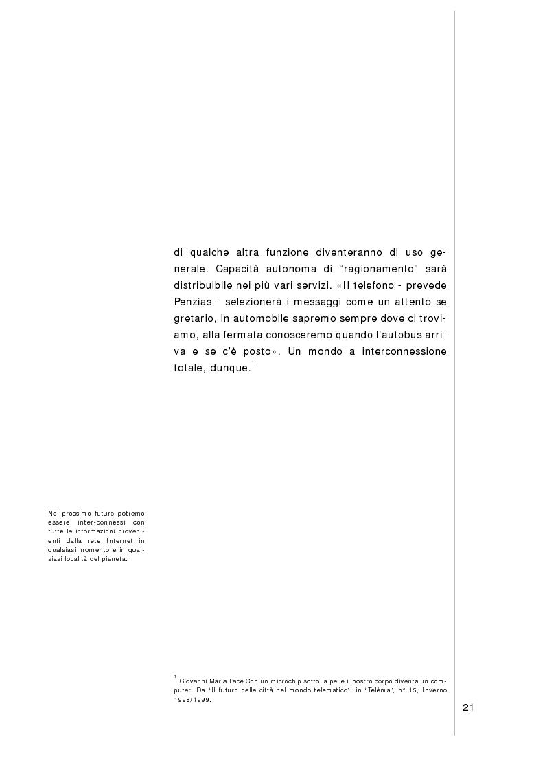 Anteprima della tesi: Verso l'hyper-città. Nuove spazialità urbane nell'era della multimedialità, Pagina 9