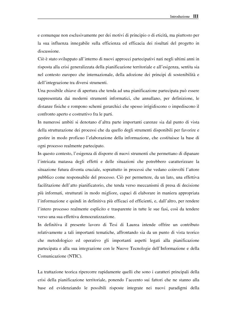 Anteprima della tesi: Le NTIC nella pianificazione partecipata. Applicazione di un metodo di Foresight alla pianificazione: progetto AlpTransit e regione insubrica., Pagina 3