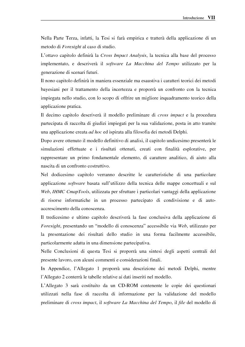 Anteprima della tesi: Le NTIC nella pianificazione partecipata. Applicazione di un metodo di Foresight alla pianificazione: progetto AlpTransit e regione insubrica., Pagina 7