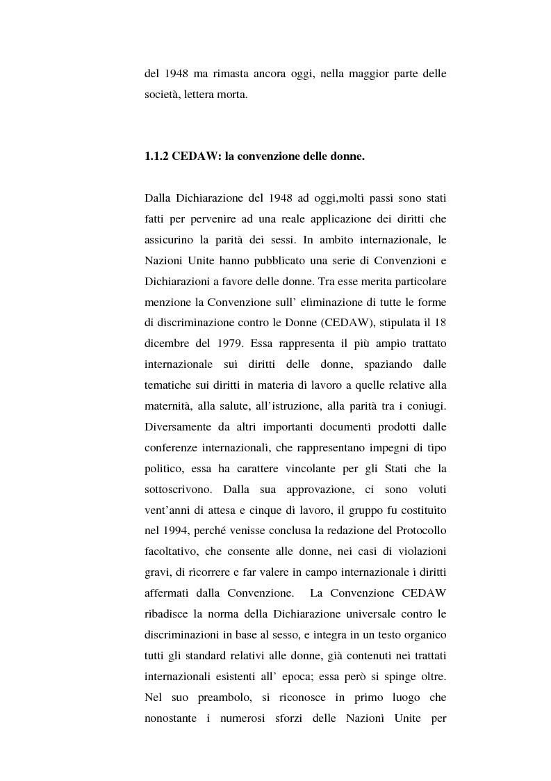 Anteprima della tesi: I diritti delle donne islamiche, Pagina 12