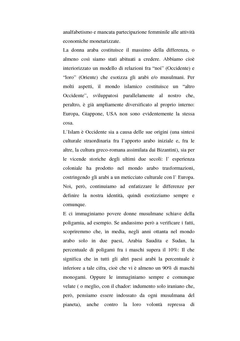 Anteprima della tesi: I diritti delle donne islamiche, Pagina 3