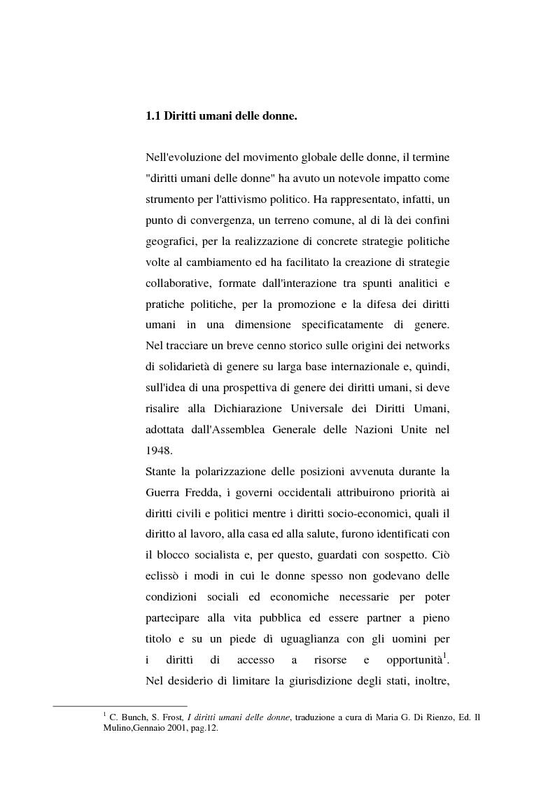 Anteprima della tesi: I diritti delle donne islamiche, Pagina 6