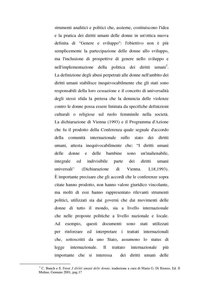 Anteprima della tesi: I diritti delle donne islamiche, Pagina 8