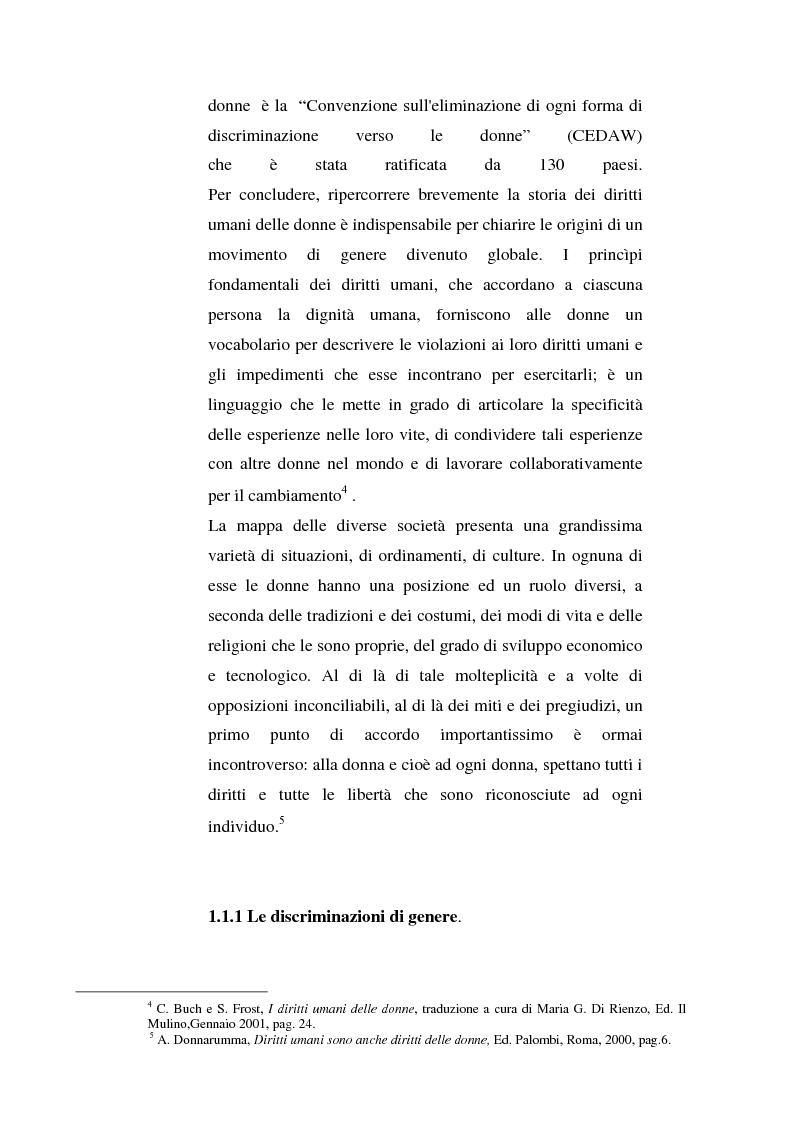 Anteprima della tesi: I diritti delle donne islamiche, Pagina 9