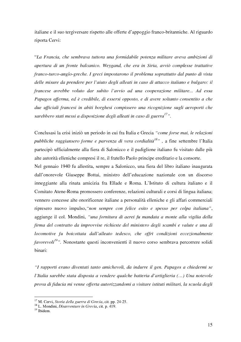Anteprima della tesi: Soldati, generali e gerarchi nella campagna di Grecia. Aspetti e tematiche di una guerra vista da prospettive differenti, Pagina 14