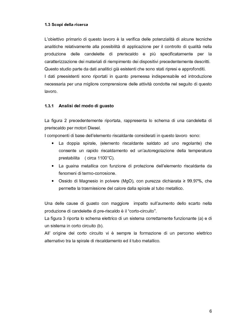 Anteprima della tesi: Applicazione di tecniche spettroscopiche e termogravimetriche per il controllo di qualità nel settore auto., Pagina 4