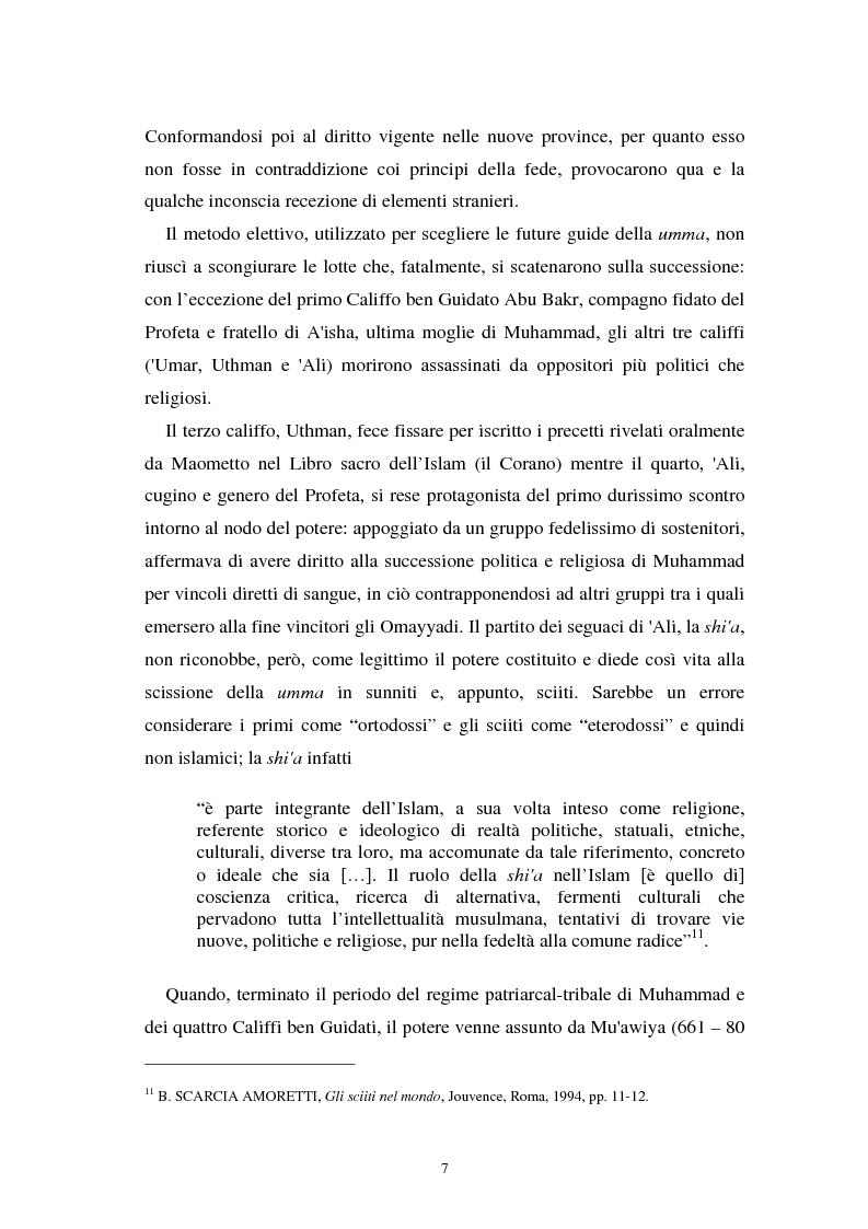 Anteprima della tesi: Dal divieto del riba all'Islamic Banking: un percorso storico-giuridico, Pagina 10